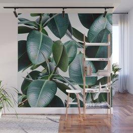 Tropical Elastica Wall Mural