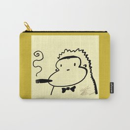 Cigar Ape in Bowtie Carry-All Pouch