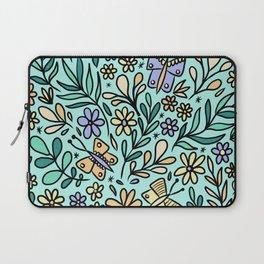 Butterflies and Bee Laptop Sleeve