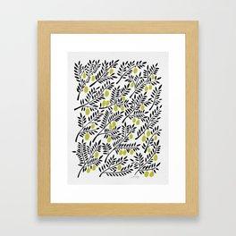 Little Lemons Framed Art Print