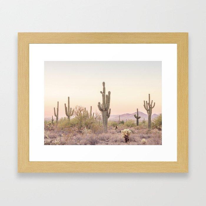 Arizona Desert Gerahmter Kunstdruck
