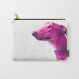 Pink Greyhound. Pop art dog. Carry-All Pouch