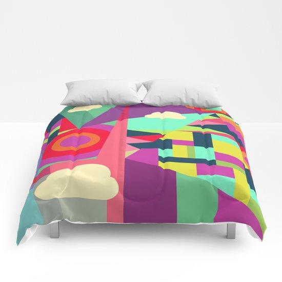 Geometric#7 Comforters