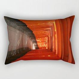 The Torri Gates of Fushimi Inari Taisha Rectangular Pillow
