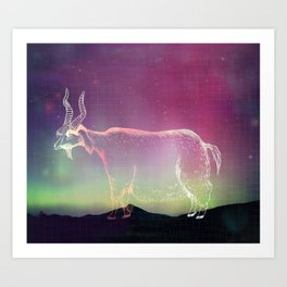 Cosmic Goatse Art Print