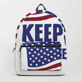 A PLEDGE A DAY KEEPS THE COMMIES AWAY T-SHIRT Backpack