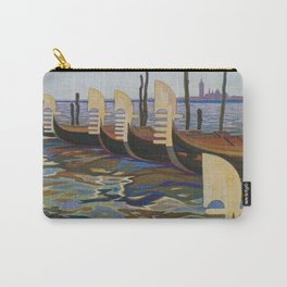 Venice, Italy Vintage Travel Poster Carry-All Pouch