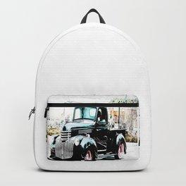 Vintage Georgia Truck Pickup Backpack
