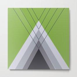 Iglu Greenery Metal Print