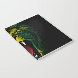 Rasta Roar Notebook