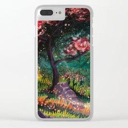 hippopotamus Clear iPhone Case