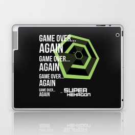 SUPER HEXAGON Laptop & iPad Skin