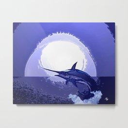 swordfish dance Metal Print