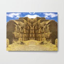 Hay Day Metal Print