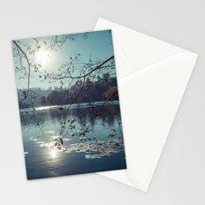 India - Blue lake Stationery Cards