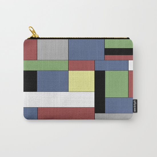 Mondrian #5 Carry-All Pouch