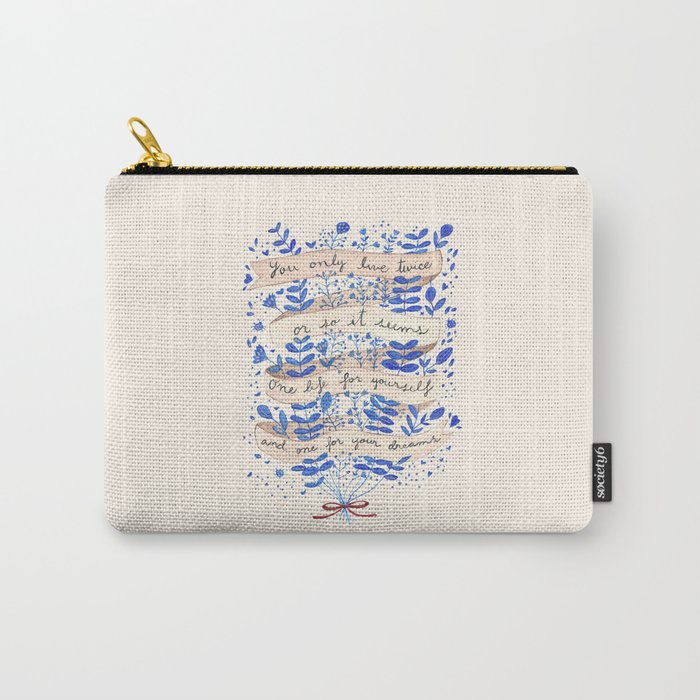 You only live twice Carry-All Pouch