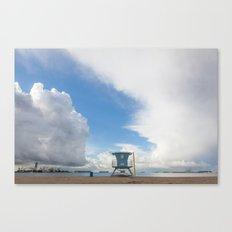 Lifeguard Tower Canvas Print