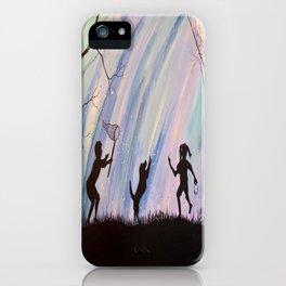 Catching Fireflies iPhone Case