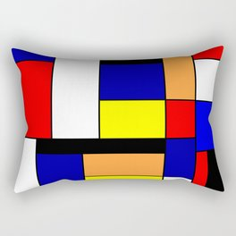 Mondrian #1 Rectangular Pillow