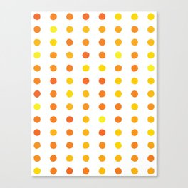 Dalmatian - Sunshine #906 Canvas Print