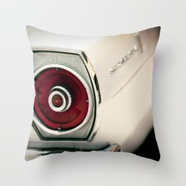At the Body Shop Throw Pillow