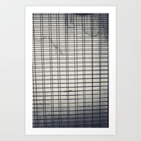 grid Art Prints featuring Grid by farsidian