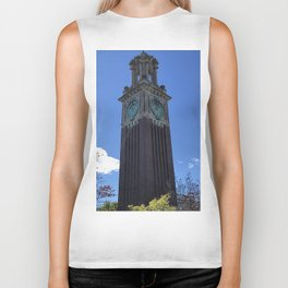The Brown Clock Tower Biker Tank