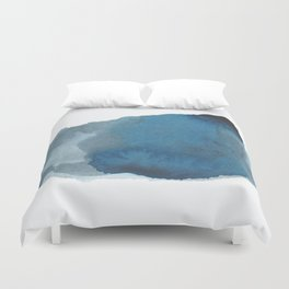 Available: dark abstract blue painting Duvet Cover