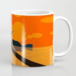 Praia Pôr do Sol Coffee Mug
