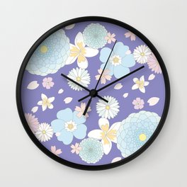 Peaceful Final Wall Clock