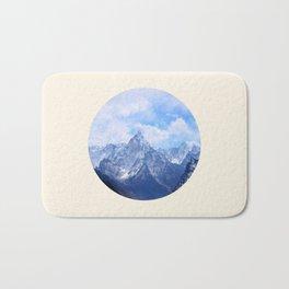 Himalayan Mountains Bath Mat