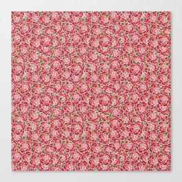 Romantic Red Roses Canvas Print