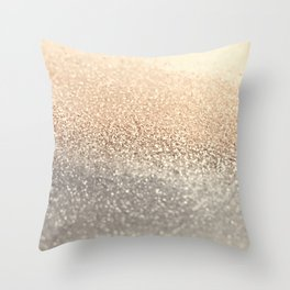 GOLD GOLD GOLD Throw Pillow