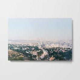 Pink LA Metal Print