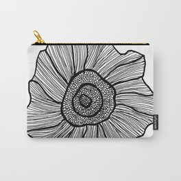 floral sketch Carry-All Pouch