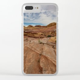 9758 Valley_of_Fire State Park, Nevada Clear iPhone Case