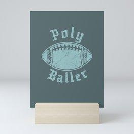 Polynesian Football Family Mini Art Print