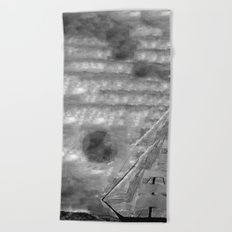 The Fate of Sir Charles Vane: Mutiny and the Cursed Lands Beach Towel