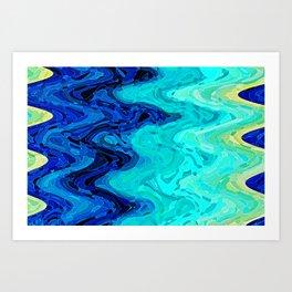OCEAN MOOD Art Print