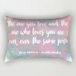 The One You Love Rectangular Pillow