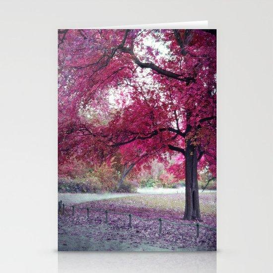 Pink Sunday Stationery Cards