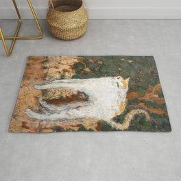 Pierre Bonnard - The White Cat / Le Chat Blanc Rug