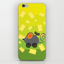 cheese lover iPhone Skin
