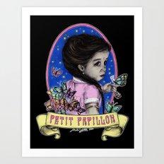 Ma Petite (color) Art Print