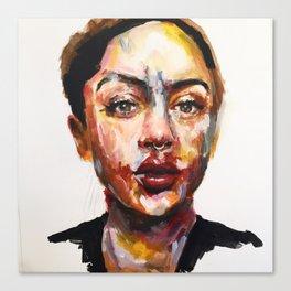 Print of Portrait in Acrylic Canvas Print