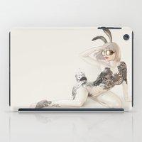 koi iPad Cases featuring Koi by Xiuyuan Zhang