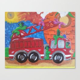 Fire Engine II Canvas Print