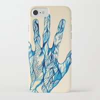 indigo iPhone & iPod Cases featuring Indigo by Nieves