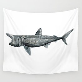 Basking shark (Cetorhinus maximus) Wall Tapestry
